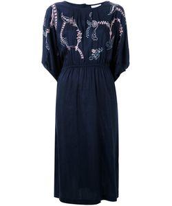 Megan Park | Платье С Цветочной Вышивкой