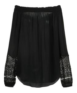 Kobi Halperin | Macrame Detail Off-Shoulders Blouse