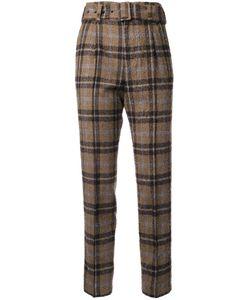 TARO HORIUCHI | Checked Tailored Trousers
