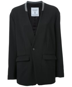 FAD THREE | Collarless Blazer Jacket