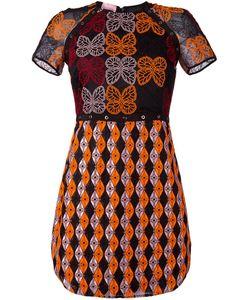 GIAMBA | Платье С Вышивкой