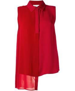 DKNY | Асимметричная Рубашка Без Рукавов