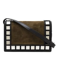 TOMASINI | Mirrored Square Trim Shoulder Bag