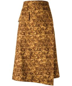 ANDREA MARQUES | All-Over Print Skirt Size 38