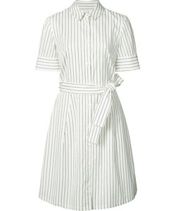Carolina Herrera | Double Pinstripe Shirt Dress