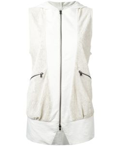 Lost & Found Ria Dunn | Perforated Sleeveless Jacket Size Small