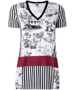 I'm Isola Marras | Printed V-Neck T-Shirt