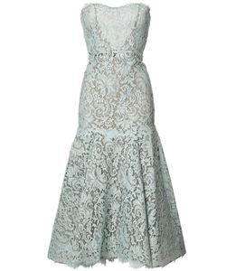 Monique Lhuillier | Кружевное Платье Фасона Русалка