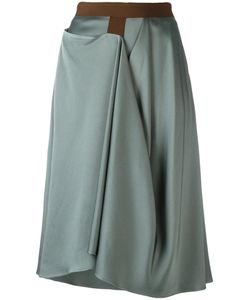 Chalayan | Enveloped Skirt 44 Acetate/Viscose