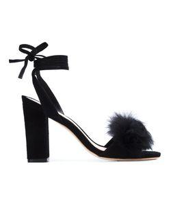 Loeffler Randall | Nicolette Fox Fur Sandals