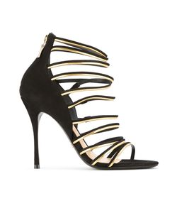SCHUTZ | Suede Strappy Sandals