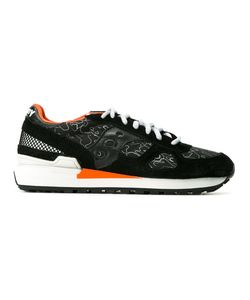 Saucony   Patterned Panelled Sneakers