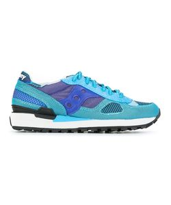 Saucony   Patterned Lace-Up Sneakers