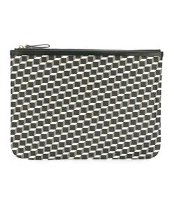 Pierre Hardy | Pouch Canvas Cube Clutch