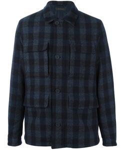 Z Zegna | Tartan Shirt-Style Coat