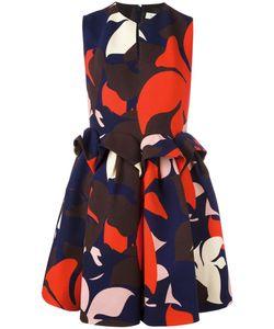 Delpozo | Платье С Присборенной Талией