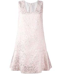 Delpozo | Платье С Рубашечным Воротником