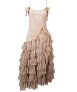 Alessandra Rich | Длинное Платье Swan
