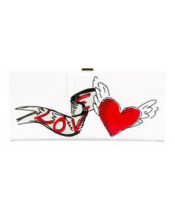 Roger Vivier | Heart Print Clutch