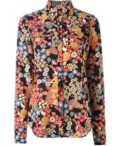 No21 | Рубашка С Цветочным Узором