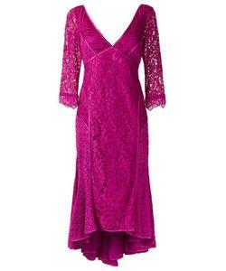 MARTHA MEDEIROS | V-Neck Lace Dress