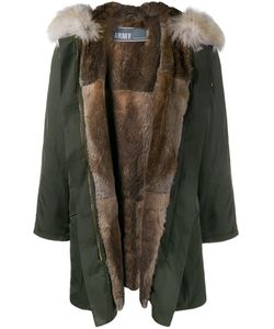 Yves Salomon | Rabbit And Coyote Fur Lined Parka