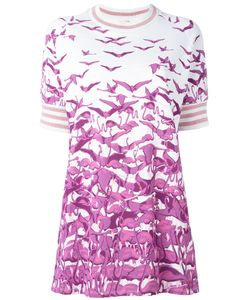 GIAMBA | Bird Print T-Shirt Dress Size
