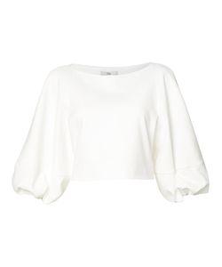 Tibi   Cropped Blouse 4 Cotton/Polyamide/Spandex/Elastane