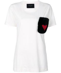 MR & MRS Italy | Fur Pocket T-Shirt