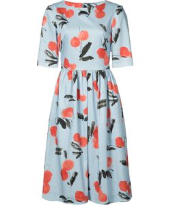 Carolina Herrera | Cherry Print Dress