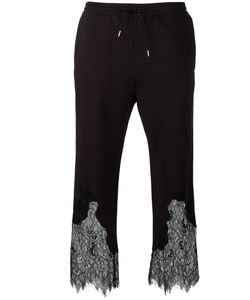 Mcq Alexander Mcqueen | Lace Insert Cropped Trousers Xs