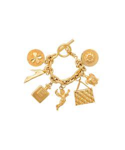 Chanel Vintage   Браслет С Семью Шармами
