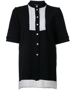 Macgraw   Entitle Shirt 8 Polyester/Acetate/Silk Organza