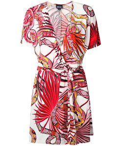 Just Cavalli | Snake Print Wrap Dress