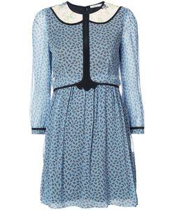 COACH | Полу-Прозрачное Платье С Геометрическим Принтом