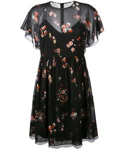 Red Valentino | Print Sheer Dress 40
