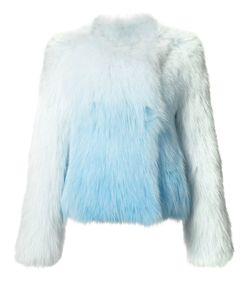 Yves Salomon | Ombre Fox Fur Jacket 38 Fox