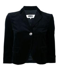 MM6 by Maison Margiela | Укороченный Бархатный Жакет