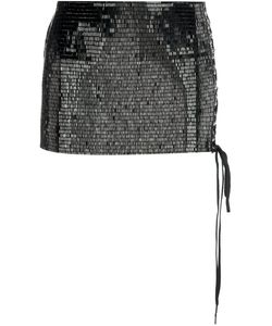 Anthony Vaccarello | Sequined Micro Skirt