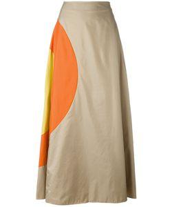 JC DE CASTELBAJAC VINTAGE | Bulls Eye A-Line Skirt Size
