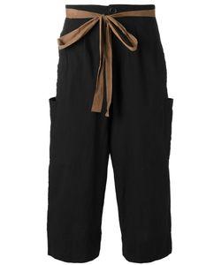 ZIGGY CHEN | Drawstring Cropped Pants 48
