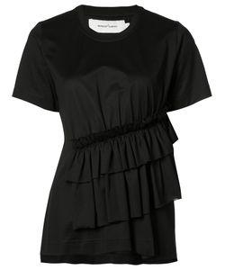 Marques Almeida | Marquesalmeida Gathe Detail T-Shirt Womens Size Xs Polyester/Polyamide