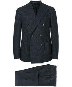 Bagnoli Sartoria Napoli | Double Breasted Pinstripe Two Piece Suit