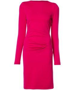 Nicole Miller | Fitted Dress Xs Rayon/Nylon/Spandex/Elastane