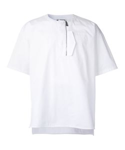 Wooyoungmi | Zip Detail T-Shirt 48 Cotton