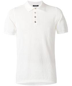 Roberto Collina   Textured Polo Shirt Size 48