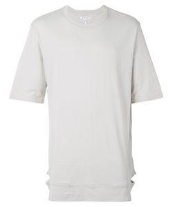 Helmut Lang | Round Neck Elongated T-Shirt