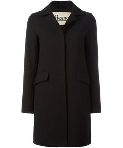 Herno   Classic Notch Collar Coat 44 Cotton/Polyester/Acetate