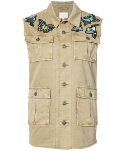 Cinq A Sept | Gilet With Patches Women