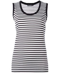 Dolce & Gabbana | Striped Tank Top 44 Cotton